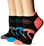 Best ASICS Socks - ASICS Women's Intensity Single Tab Socks, Black Assorted Review