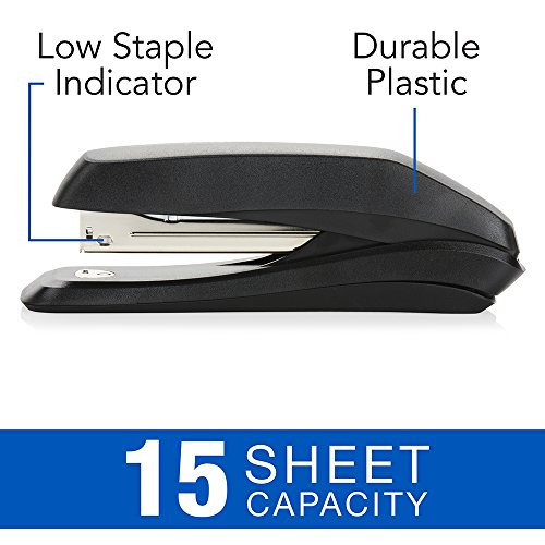 Large Product Image of Swingline Stapler Value Pack, Antimicrobial Stapler, 15 Sheet Capacity, includes Staples & Stapler Remover (S70754551H)