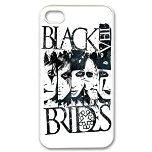 Christmas gifts 2 Music Band Black Veil Brides Print White Case With Hard Shell Cover for Apple iPhone 4/4S