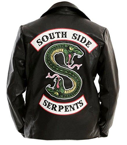 Riverdale Southside Serpents Real Leather Jacket│Jughead Jones Southside Serpents Real Leather Jacket│►Best Seller◄