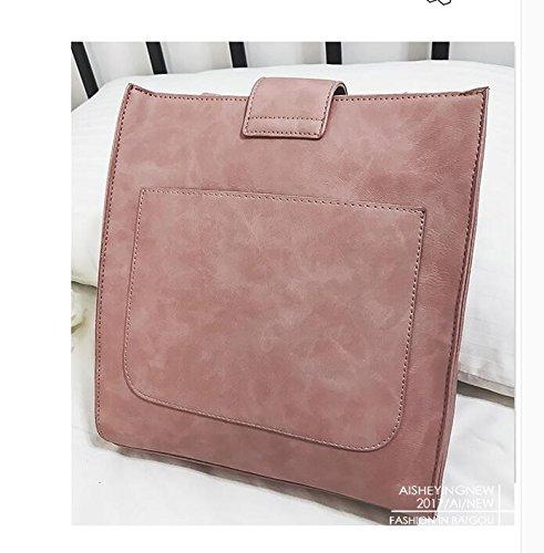 Estudiante Borla Brown Todos Portátil Simple De Viento Coinciden Yebao Shoulder Lady Bolsa Bolso Bag Con Dark Single aqIxOS0