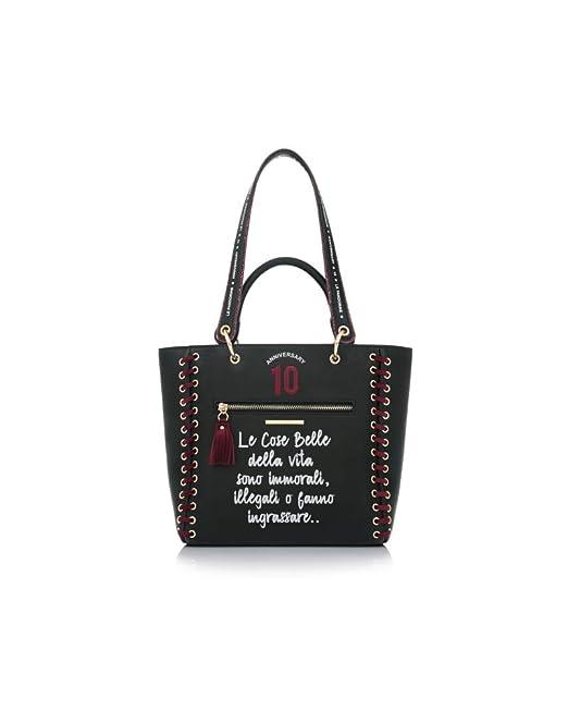 A Mano Pandorine Borsa Bag Le Donna Anniversary Belle Cose Nero CBvBqwp0