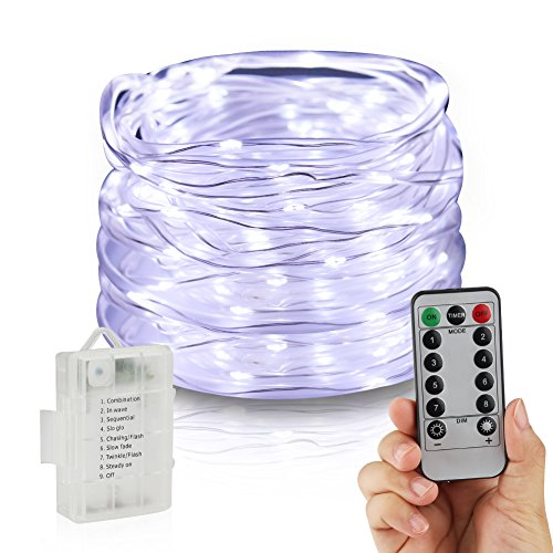 18 Cool White Led Indoor/Outdoor Christmas Rope Lights - 7