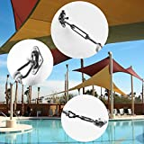 Shade&Beyond Shade Sail Hardware Kit for Triangle