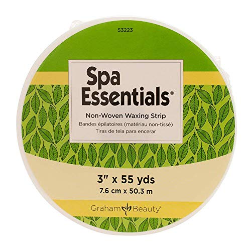 Graham Professional Spa Essentials Non-Woven Roll Waxing Strips- 3