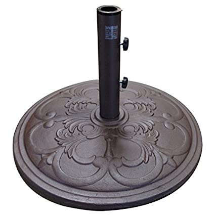 Heavy Duty Round Cast Iron Outdoor/Patio Umbrella Base Stand