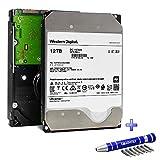 Western Digital Ultrastar DC HC520 HDD 12TB 7.2k RPM SATA 6Gb/s 256MB Cache 3.5-Inch Enterprise Internal Hard Drive   HUH721212ALE600   0F30144   Bundle with COMPATILY Hard Drive Carrier Screw Kit