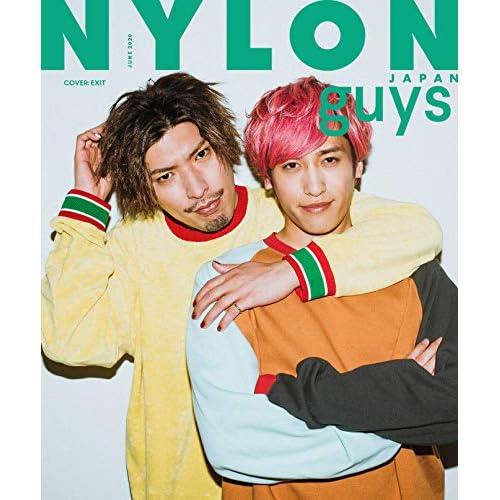 NYLON JAPAN guys 2020年6月号 表紙画像
