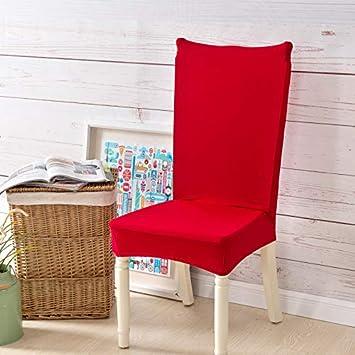 Feilaxleer Fundas para sillas Comedor elásticas Universal Pack de 2 ...