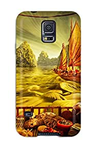 New Style Case Cover Food Landscapes Compatible With Galaxy S5 Protection Case
