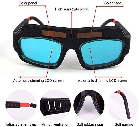 3Pcs Schweißen Brille Sicherheits Augenarbeitsschutzbrille breite Objektiv