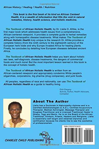 The Textbook of African Holistic Health: Llaila O Afrika