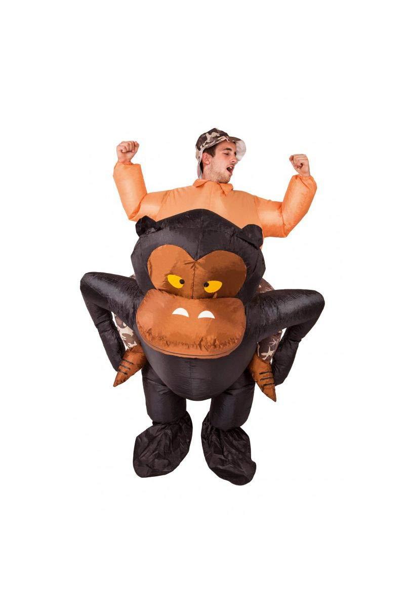 Chaks C4213 - Disfraz Hinchable de Gorilla para Adulto ...