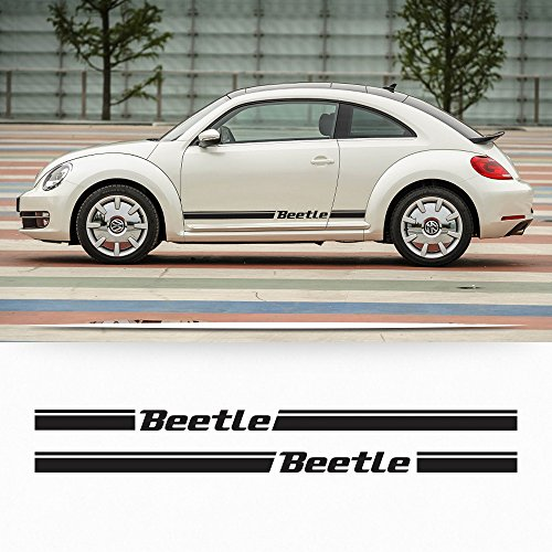 Beetle rocker Stripe Graphics Decals Bug style fit any year