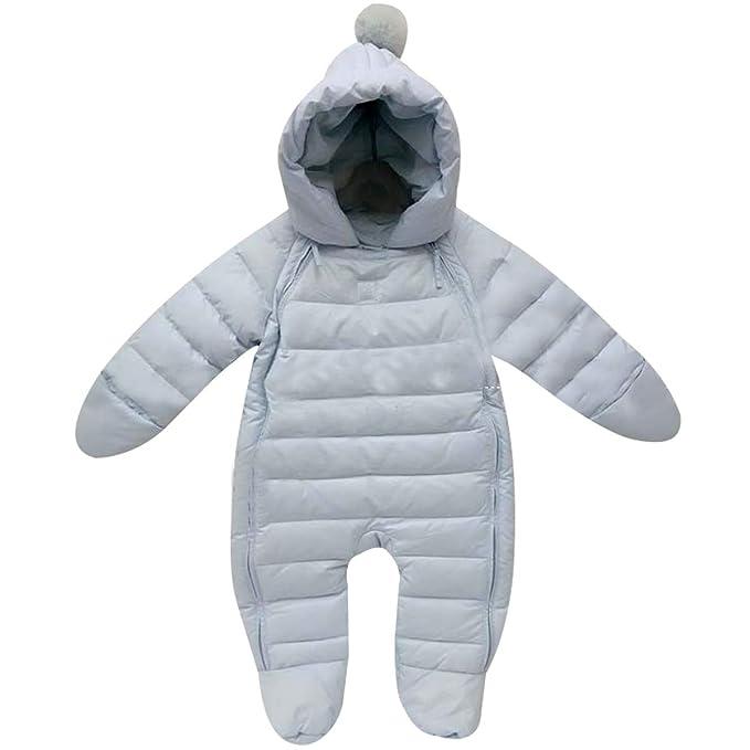 Amazon.com: Bebone - Traje de nieve con capucha para recién ...