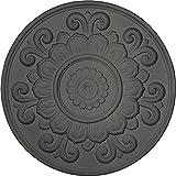 Ekena Millwork CM32LSSGS Ceiling Medallion, Steel Gray