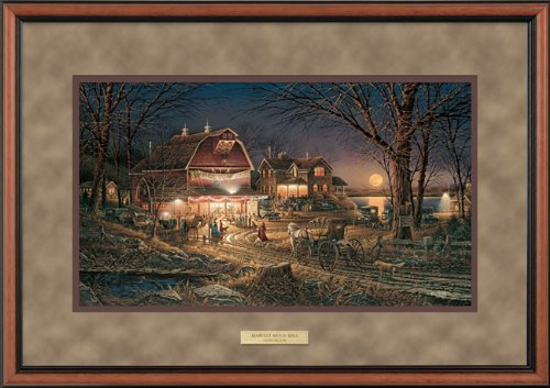 Wild Wings Harvest Moon Ball Framed Encore Print by Terry Redlin