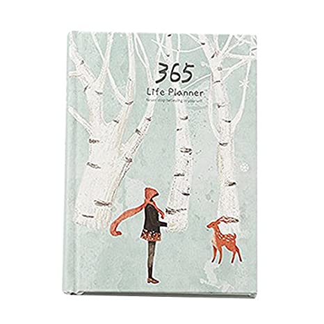a4b957dba648 Ants-Store - Creative Hardcover Year Plan Notebook 365 Days Inner ...