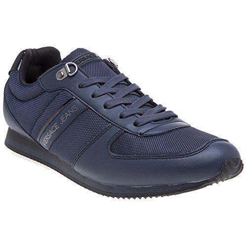 Versace Jeans Nylon Lace Herren Sneaker Navy Navy