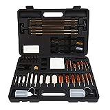 FIREGEAR Universal Gun Cleaning Kit Supplies for Rifle, Handgun(Pistol, Revolver) and Shot Gun