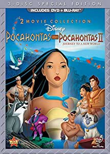 Pocahontas & Pocahontas II: Journey to a New World (Special Edition DVD Combo Pack) 2-Movie Collection [Blu-ray + 2-Disc DVD]