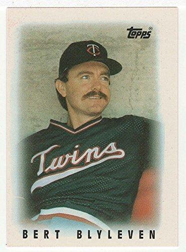 Amazoncom Bert Blyleven Baseball Card 1986 Topps Mini Leaders