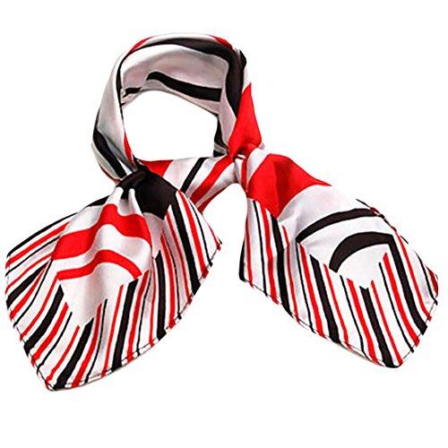 Fashion Square Taschen-Frauen-formale Klage Kurz Schal-Geschäfts-Geschenk-A8