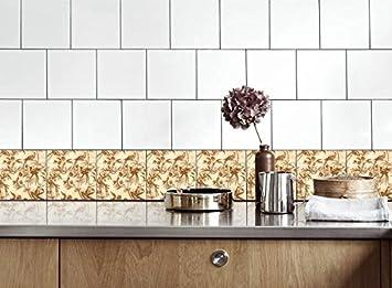 Life Decor Küche Fliesen Aufkleber Vinyl Film für Badezimmer ...