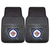 Fanmats 10519 NHL Winnipeg Jets Front Row Vinyl Heavy Duty Car Mat - 2 Piece
