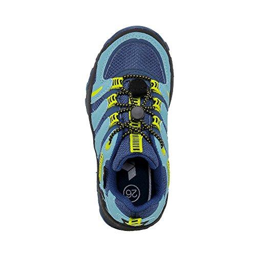 Lico Fremont, Zapatos de Low Rise Senderismo Unisex Niños Marine (Marine/Blau/Lemon)