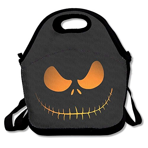 Outdoor Travel Lunch Bag Tote Boxes Halloween Freak Picnic Handbag Lunchbox Work Gym Food Storage For Adults Kids ()