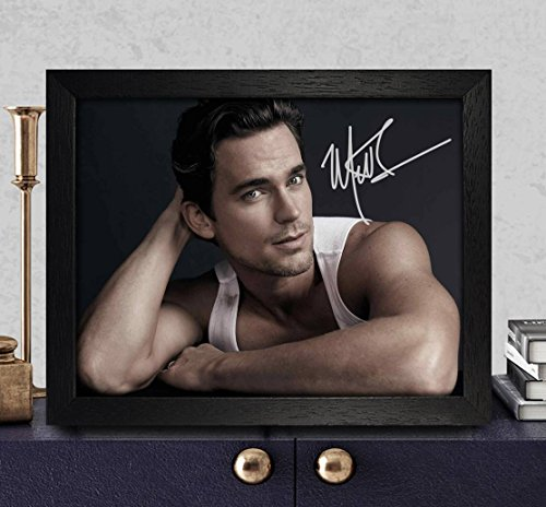 Matt Bomer White Collar Autographed Signed 8x10 Photo Reprint #04 Special Unique Gifts Ideas Him Her Best Friends Birthday Christmas Xmas Valentines Anniversary Fathers Mothers Day