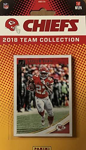 Kansas City Chiefs 2018 Donruss NFL Football Complete Mint 12 Card Team Set with Patrick Mahomes, Kareem Hunt, Tony Gonzalez (Tony Gonzalez Football)