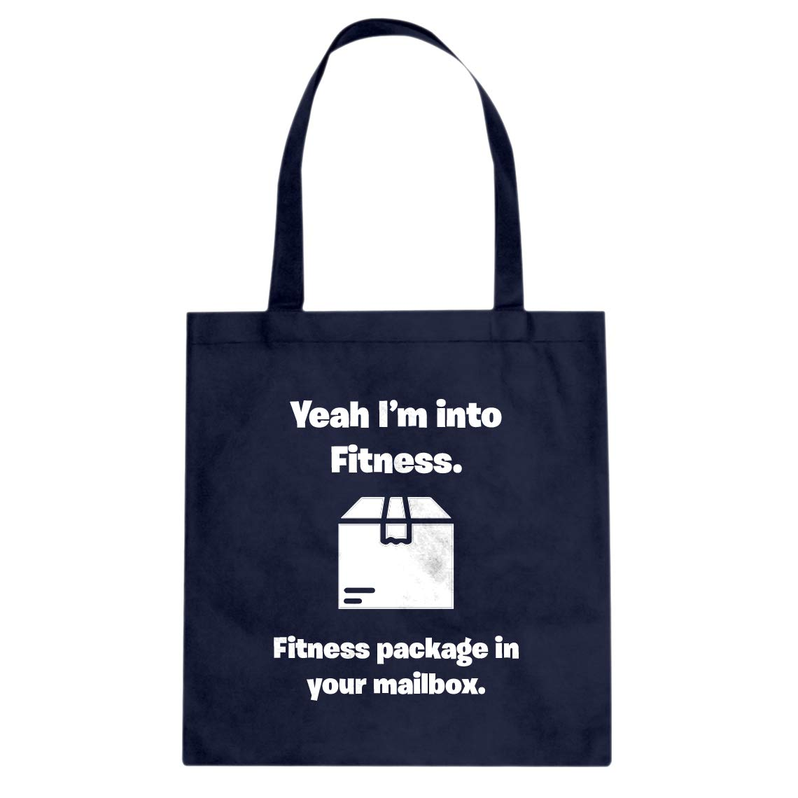 Indica Plateau Fitness Package in your Mailbox Cotton Canvas Tote Bag
