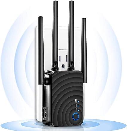 GODLV Repetidor WiFi 5Ghz / 2.4Ghz Amplificador WiFi 1200Mbps ...