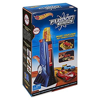 Hot Wheels Fusion Factory Car Maker: Toys & Games