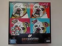 Paw Palettes 500 Piece Puzzle Black Lab by Mega Puzzles