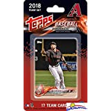 Arizona Diamondbacks 2018 Topps Baseball EXCLUSIVE Special Limited Edition 17 Card Complete Team Set with Paul Goldschmidt, Zack Greinke & Many More Stars & Rookies! Shipped in Bubble Mailer! WOWZZER!