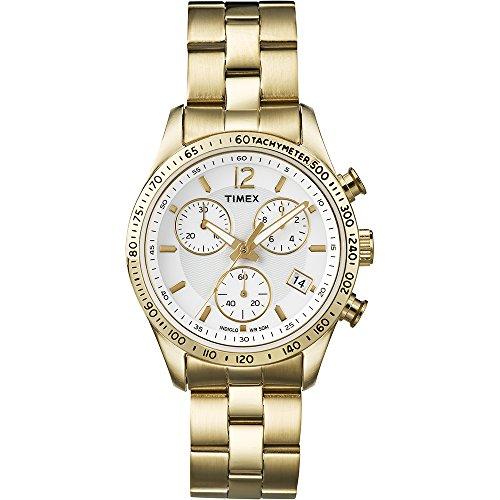 Timex-Classic-T2P058PF-Reloj-de-cuarzo-para-mujeres-correa-de-acero-inoxidable-color-dorado