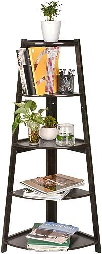 GIODIR Corner Ladder Shelf