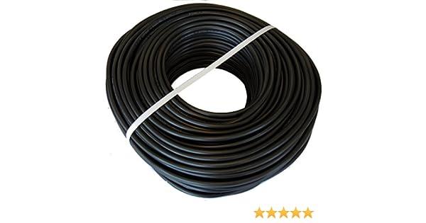Cable H05VV-F Manguera 3x1,5mm 100m (Negro): Amazon.es: Bricolaje y herramientas