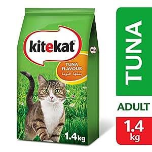 Kitekat Tuna, Dry Cat Food, 1.4kg x 6