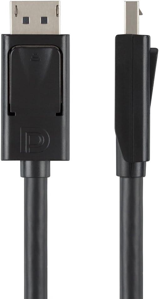 Belkin F2CD001b06-E DisplayPort-Male to HDMI-Male Cable (6 Feet, Black)