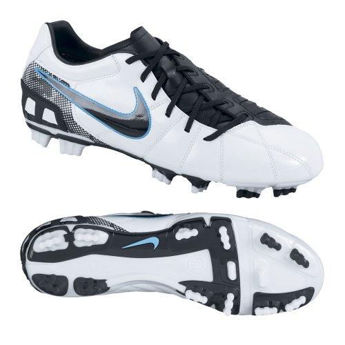 Nike Total90 Shoot Iii Fg (uomo) Bianco / Blu Cloro // Nero