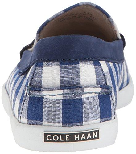 Cole Haan Womens Pinch Weeknder-prep Stampa Blu Gingham / Rainstorm Nubuck