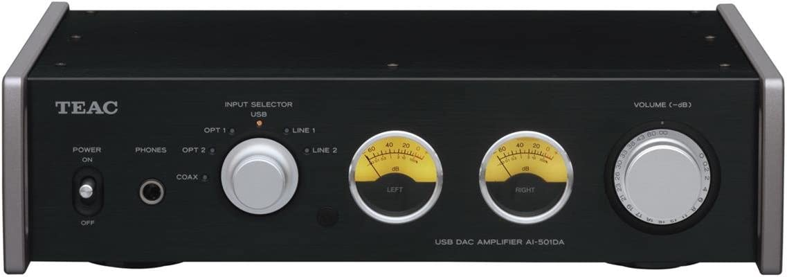 Teac AI-501DA-B Receiver with Integrated Amplifier and DAC s Black