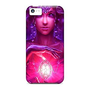Luckmore Perfect Tpu Case For Iphone 5c/ Anti-scratch Protector Case (witchcraft)