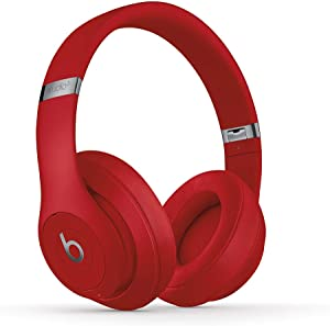 Beats Studio3 Wireless Over-Ear Headphones - Red (Latest Model)