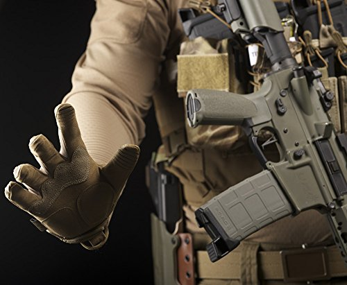 Mechanix Wear - M-Pact Coyote Tactical Gloves (Large, Brown) by Mechanix Wear (Image #5)