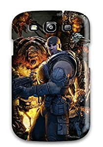 7531241K92226720 Scratch-free Phone Case For Galaxy S3- Retail Packaging - Gears Of War